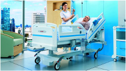 LINET - Acute care bed