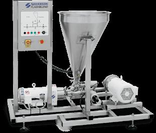 Flashblend Powder/Liquid Mixing Systems